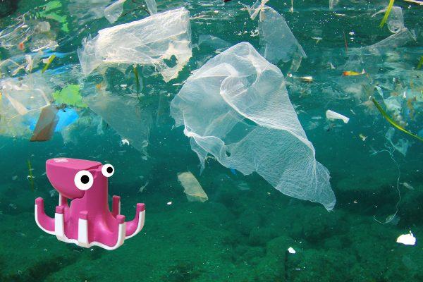 octopus ocean clean up plastic beasts of balance