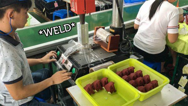 beasts of balance manufacturing ultrasonic welding