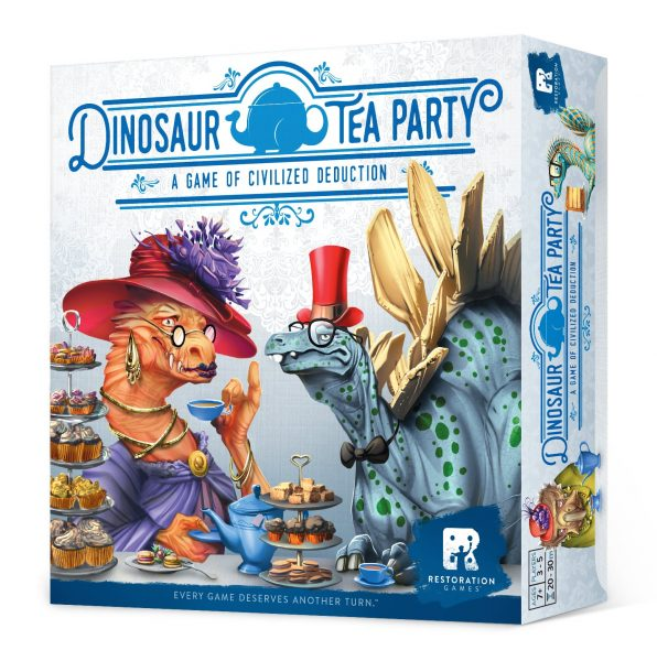 Dinosaur Tea Party Box