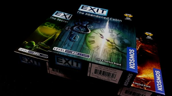 Exit Board Game Varieties