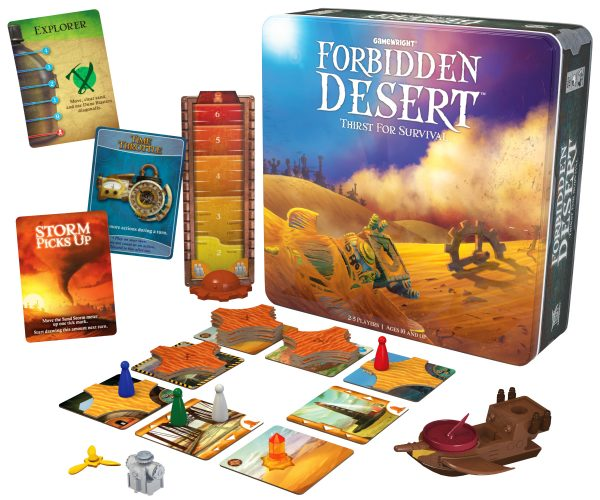 forbidden desert family game