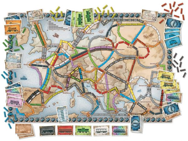 ticket to ride family game