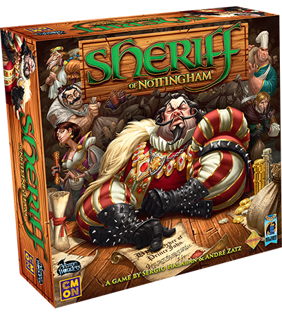 Board Game Sheriff of Notthingham