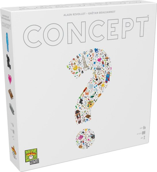 Concept Board Game Box Art