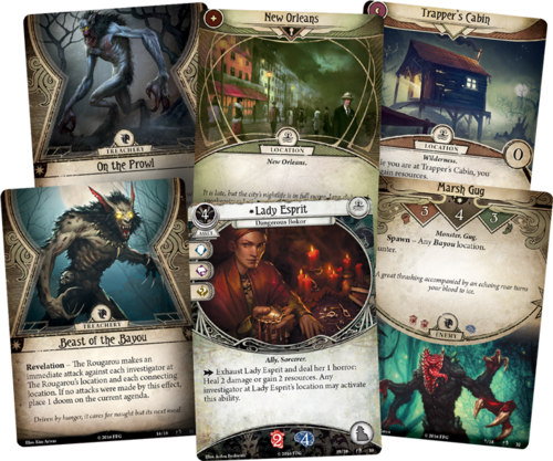 Arkham horror the card game types of cards, a tabletop game for couples