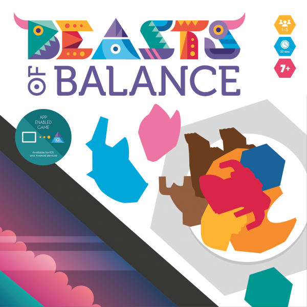 Designing the packaging for the Beasts of Balance stacking game