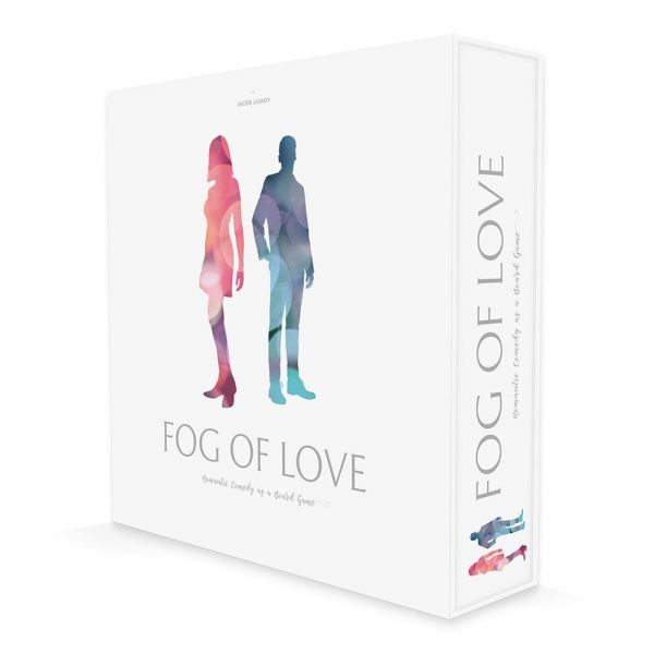 Fog of Love, a two player board game perfect for couple's date night