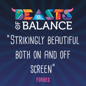 """Strikingly beautiful both on and off screen"" Forbes Beasts of Balance stacking game review"
