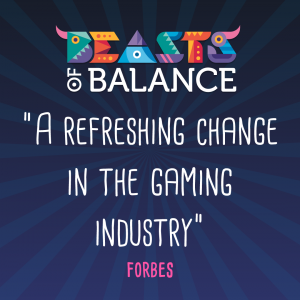 """A refreshing change in the gaming industry"" Forbes Beasts of Balance stacking game review"