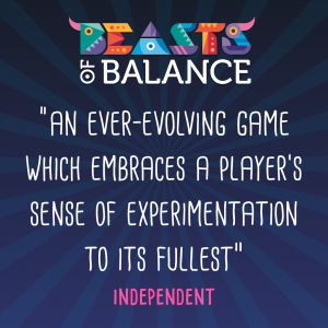 """An ever-evolving game which embraces experimentation"" Independent Beasts of Balance stacking game review 1"