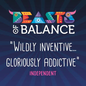 """Wildly inventive...gloriously addictive"" Independent Beasts of Balance stacking game review"