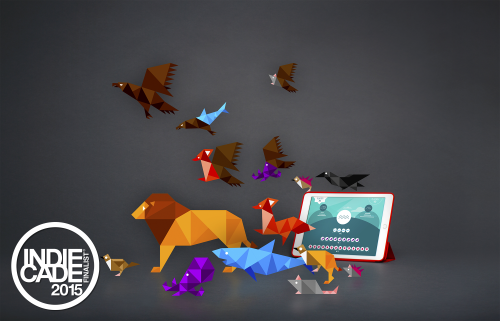 Beasts of Balance stacking game is an Indiecade Finalist!