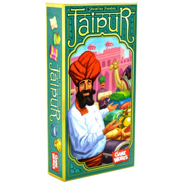 Jaipur , the two person card game that couples can play