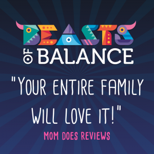 """Your entire family will love it!"" Mom Does Reviews Beasts of Balance stacking game review"