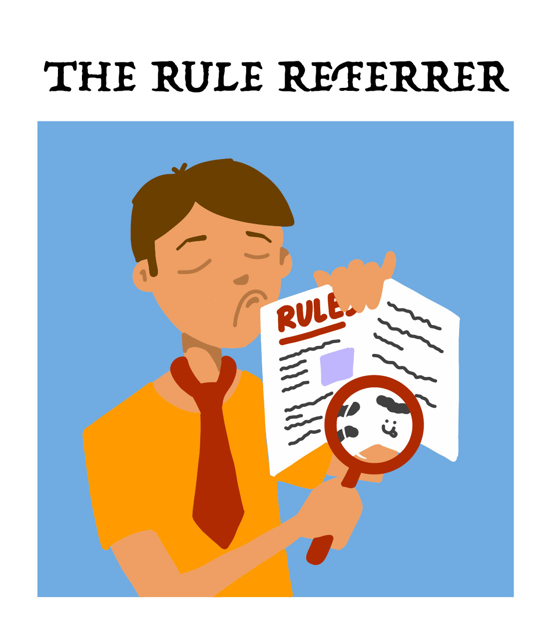 the rule referrer, type two of nine board game players