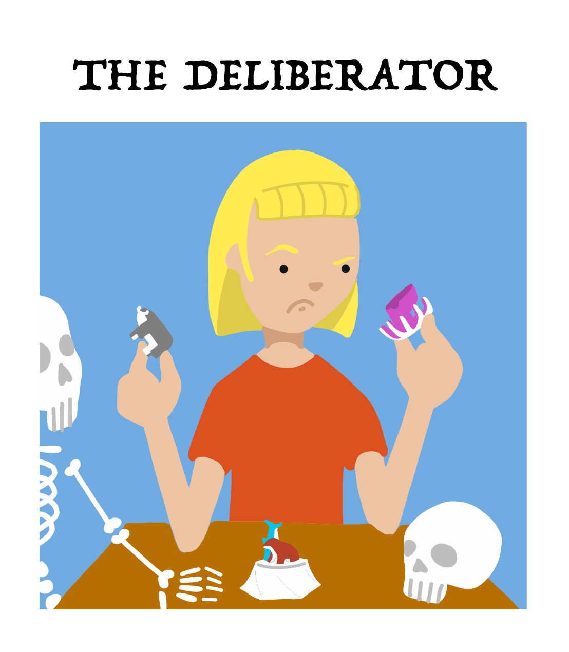 the deliberator, type 4 of board game player types
