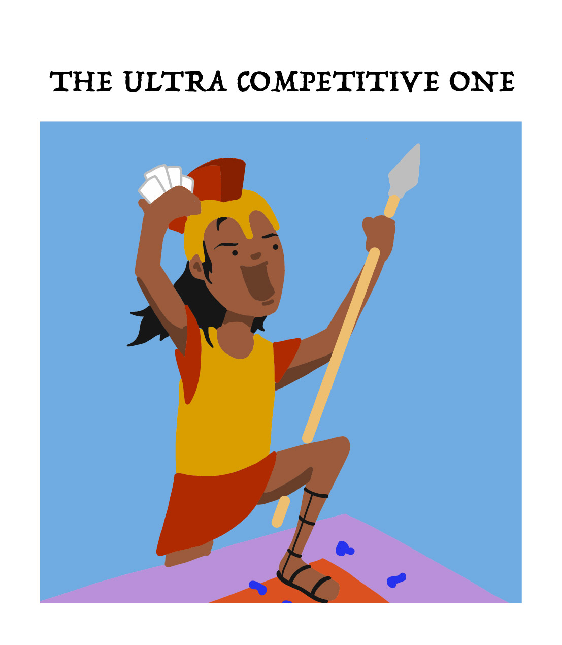 the ultra competitive one, type of board game player