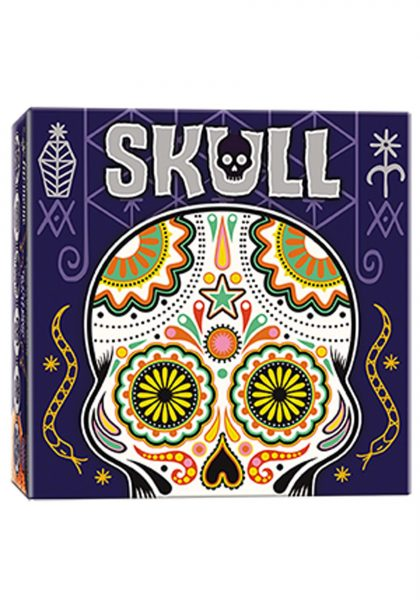 Skull Board Game Box Art
