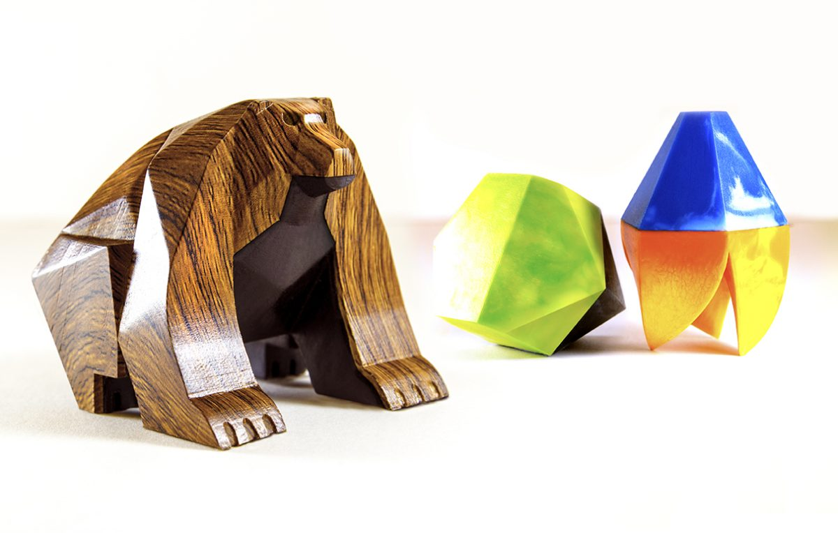 One-of-a-kind Beasts of Balance handmade edition featuring unique hand-crafted pieces