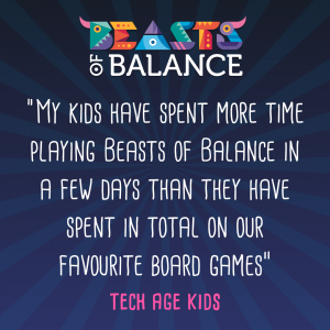 Tech Age Kids Beasts of Balance stacking game review