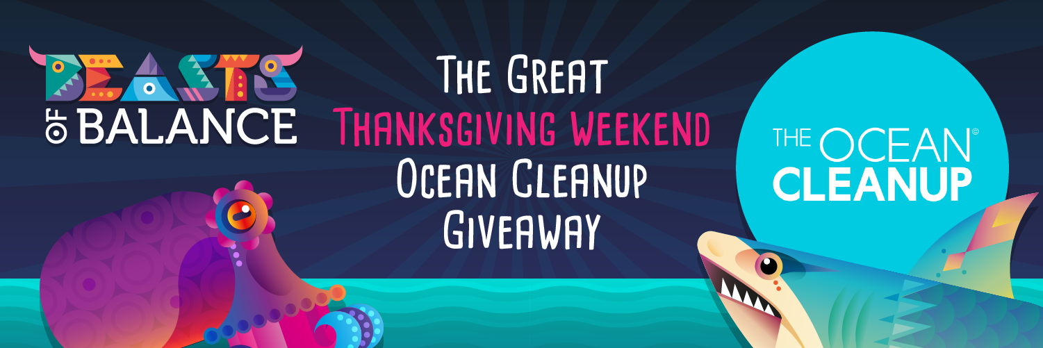 Beasts of Balance partners with The Ocean Cleanup this Thanksgiving weekend
